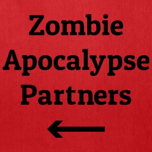 zombie apocalypse partners Bags & backpacks - Tote Bag