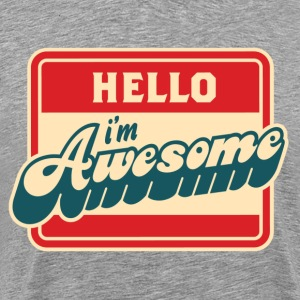 i'm awesome - Men's Premium T-Shirt