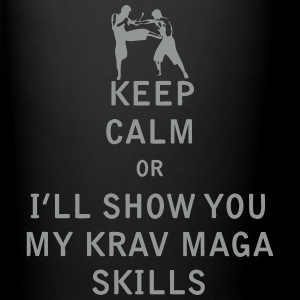 Keep Calm or i'll Show You My Krav Maga Skills - Full Color Mug