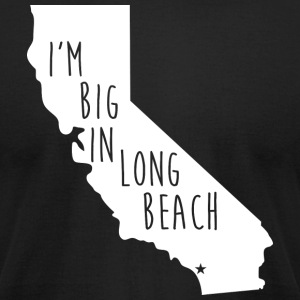 Long Beach Big Pride Proud T-Shirt Tee Top Shirt T-Shirts - Men's T-Shirt by American Apparel