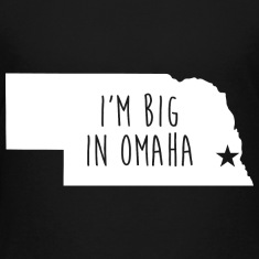 Omaha Big Pride proud T-Shirt Tee Top Shirt Kids' Shirts