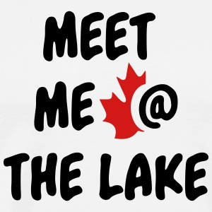 Meet me at the Lake Canada - Men's Premium T-Shirt