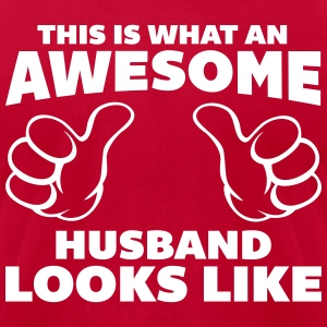 Awesome Husband Looks Like T-shirts - T-shirt pour hommes American Apparel