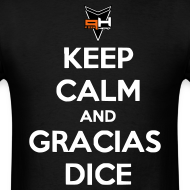 Design ~ Gracias, Dice (letras blancas)