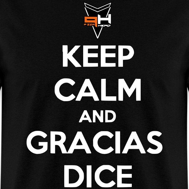 Gracias, Dice (letras blancas)