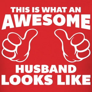 Awesome Husband Looks Like T-shirts - T-shirt pour hommes