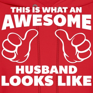 Awesome Husband Looks Like Hoodies - Men's Hoodie