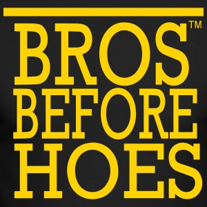 BROS BEFORE  HOES Long Sleeve Shirts - Men's Long Sleeve T-Shirt by Next Level