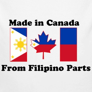 Filipino Canadian Baby   - Long Sleeve Baby Bodysuit