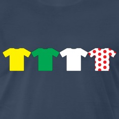 Jerseys of the Tour De France T-Shirts