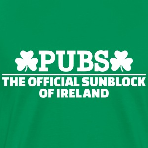 Pubs Official sunblock of Ireland T-Shirts - Men's Premium T-Shirt