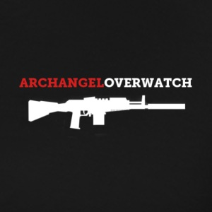 Archangel_overwatch_rifle T-Shirts - Men's Premium T-Shirt