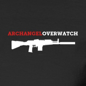 Archangel_overwatch_rifle Long Sleeve Shirts - Men's Long Sleeve T-Shirt