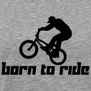 Born to Ride (Vector) - Men's Premium T-Shirt