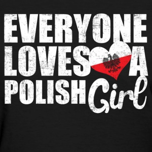 Love Polish Girls Women's T-Shirts - Women's T-Shirt