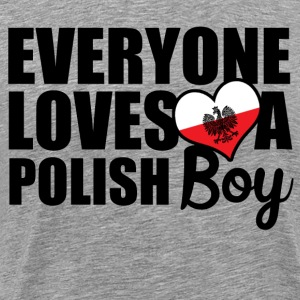 Polish Boy T-Shirts - Men's Premium T-Shirt