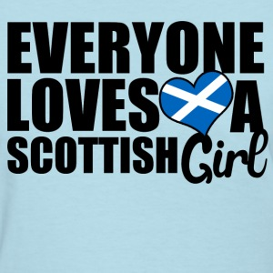 Scottish Girl Women's T-Shirts - Women's T-Shirt