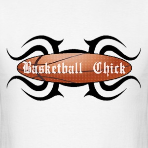 Basketball Chick Tribal T-Shirts - Men's T-Shirt