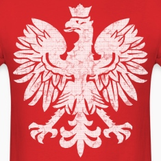Polish Eagle Halftone T-Shirts