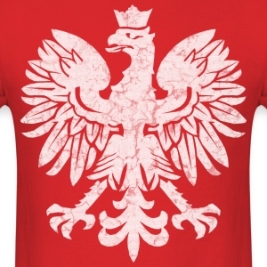 Polish Eagle Halftone T-Shirts - Men's T-Shirt