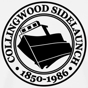 Collingwood shipyards Canada - Men's Premium T-Shirt