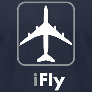 iFly   US - Men's T-Shirt by American Apparel