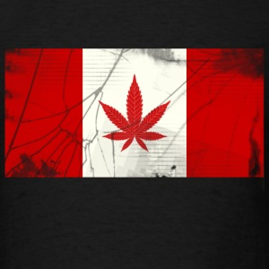 marijuana flag - Men's T-Shirt
