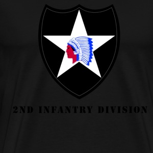 US Army 2nd Infantry Division Men's Shirt - Men's Premium T-Shirt