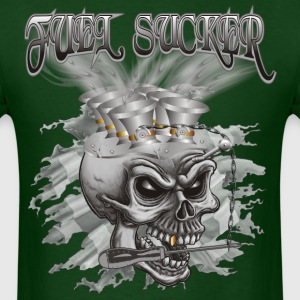 Fuel Sucker Racing Skull T-Shirts - Men's T-Shirt