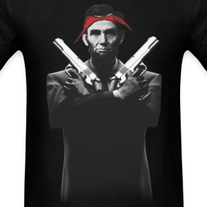 Abe Gangsta - Men's T-Shirt