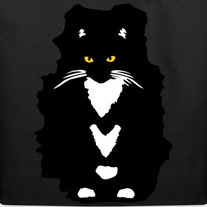 Tuxedo Cat Bags & backpacks - Eco-Friendly Cotton Tote