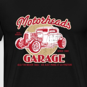 Motorheads Garage - Men's Premium T-Shirt