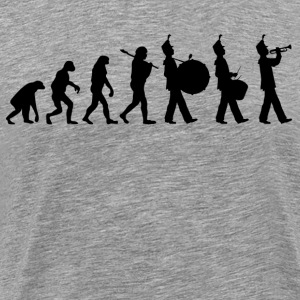 Marching Band Evolution T-Shirts - Men's Premium T-Shirt