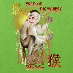 Year Of The Monkey-2016 - Tote Bag