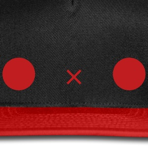 Cute O x O face Caps - Snap-back Baseball Cap