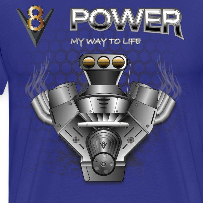 V8 Engine T-Shirts