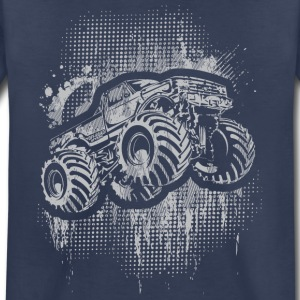 Monster 4x4 Truck grungy Baby & Toddler Shirts - Toddler Premium T-Shirt
