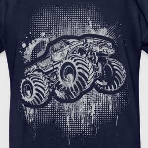 Monster 4x4 Truck grungy Kids' Shirts - Kids' T-Shirt