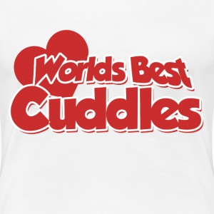 Worlds best Cuddles - Women's Premium T-Shirt
