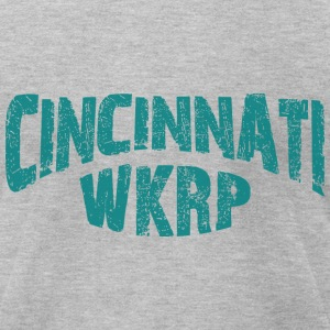 WKRP - Men's T-Shirt by American Apparel