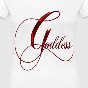 Red Goddess - Women's Premium T-Shirt