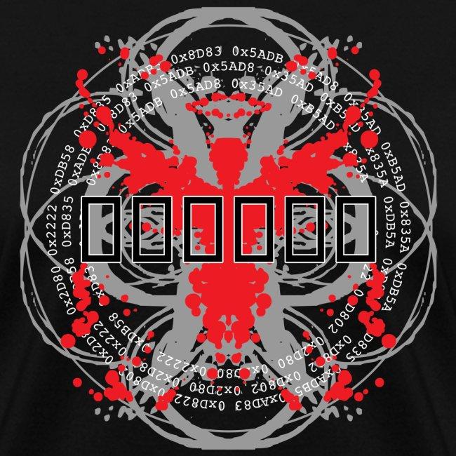'Hex Code' [2015 reprint!] (Black, Womens)