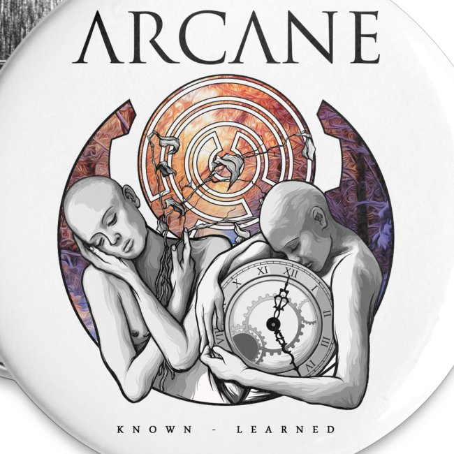 Arcane 'Learned' artwork buttons [pack of 5]