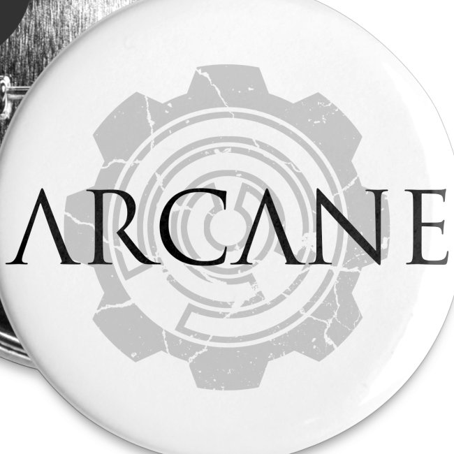 Arcane logo buttons [pack of 5]