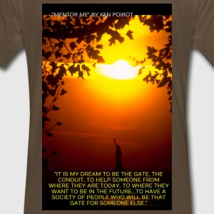 T-Shirt: It is My Dream to Be The Gate... Back D - Men's Premium T-Shirt