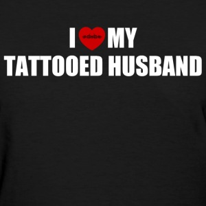 Tattooed husband Women's T-Shirts - Women's T-Shirt