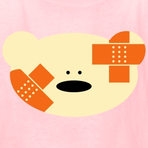 Teddy bear with plaster Kids' Shirts - Kids' T-Shirt