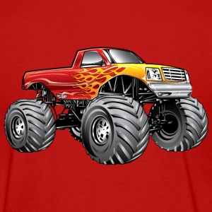 Blazing Hot Monster Truck Women's T-Shirts - Women's T-Shirt