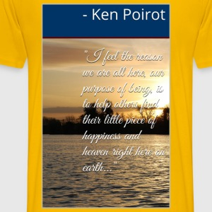 T-Shirt: I Feel the Reason We Are All Here, Our P - Men's Premium T-Shirt