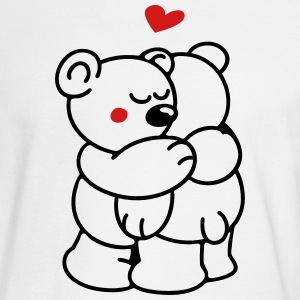 Teddys in Love Long Sleeve Shirts - Men's Long Sleeve T-Shirt